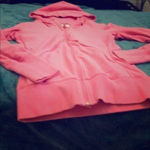 Nike zip jacket with hood and pockets